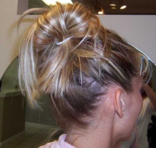 hairstyle instructions. Messy Bun Hairstyles Instructions Which can be created by all hairs types if