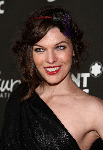 milla jovovich images. Milla Jovovich Hairstyles