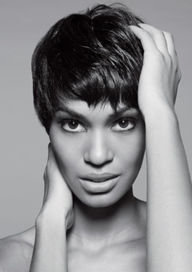 african american short braid hairstyle