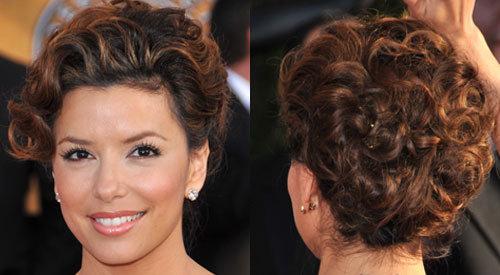 Eva longoria hairstyles curly