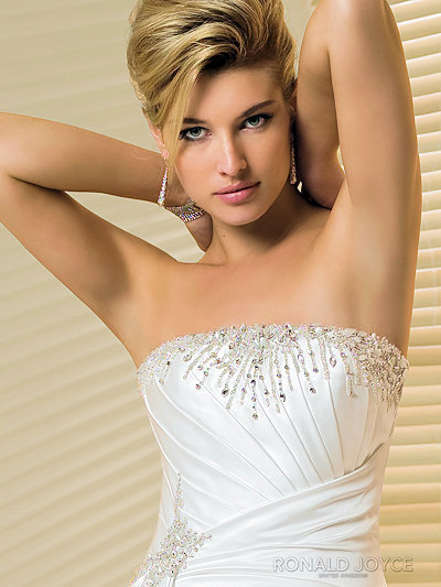 Satin A Line Wedding Dresses