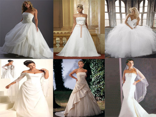high end wedding gowns, 2010