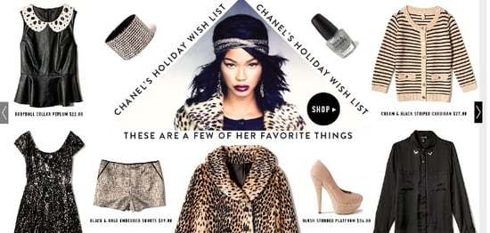 Chanel Iman Stars in Forever 21 Holiday Campaign