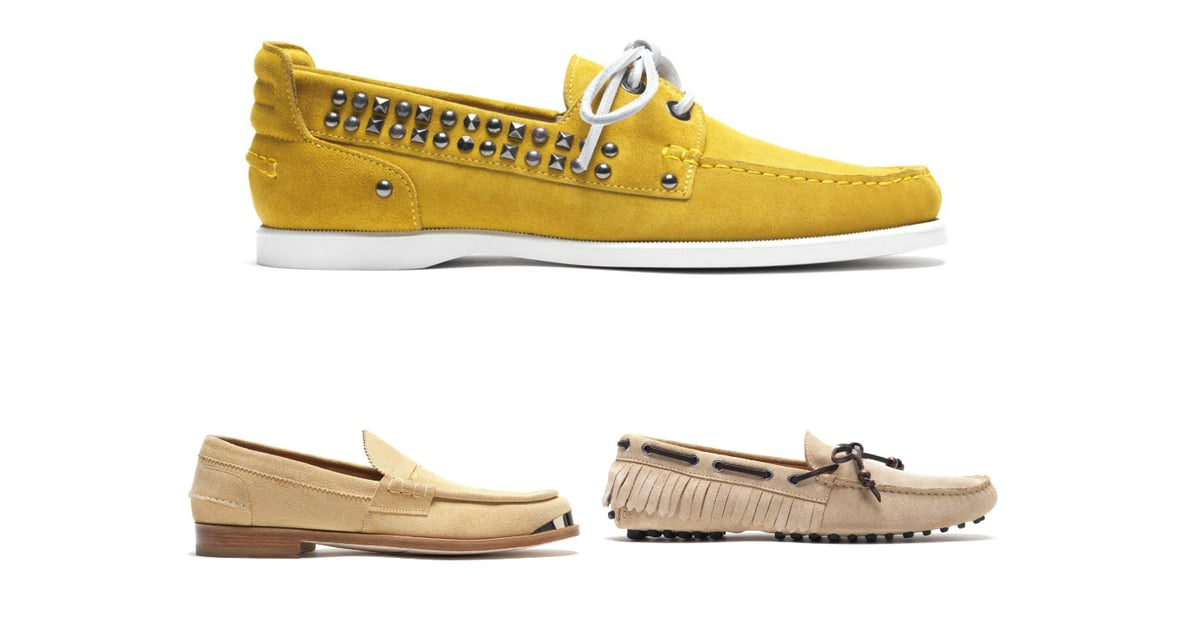 Mens Boat Shoes With Tassels