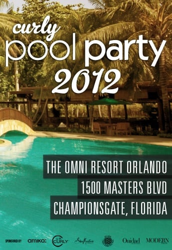 Curly Pool Party 2012