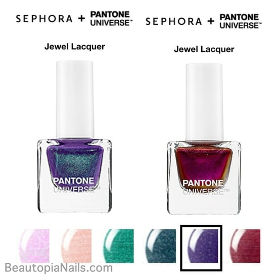 Pantone Jewel Lacquers at Sephora