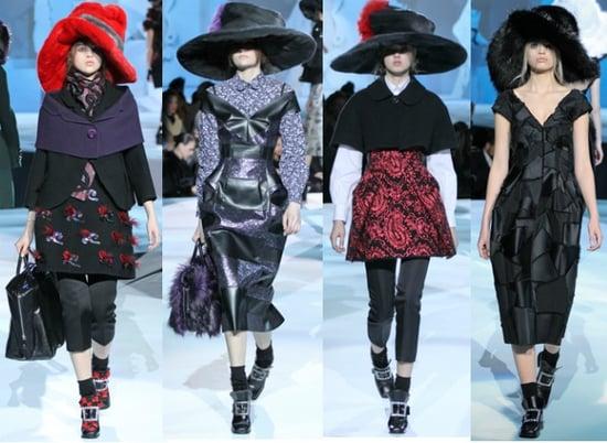 Marc Jacobs fall 2012: le chapeau, oui ou non?