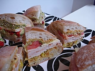 Having a Sandwich Party