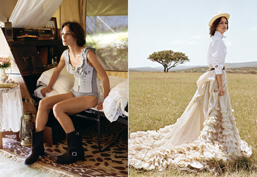 Keira Knightley Vogue Photo Shoot