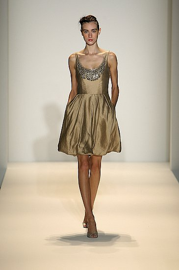 Lela Rose Spring 2009 Runway: Photo 6 of 41 | Coutorture :  spring 2009 dress short metallic