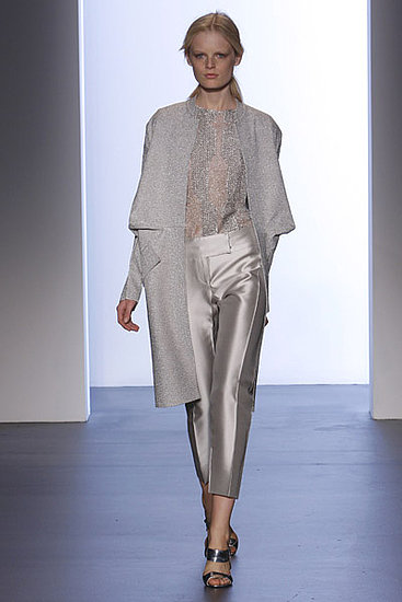 Calvin Klein Spring 2009: Photo 9 of 29 | Coutorture :  spring 2009 glittery sweater metallic