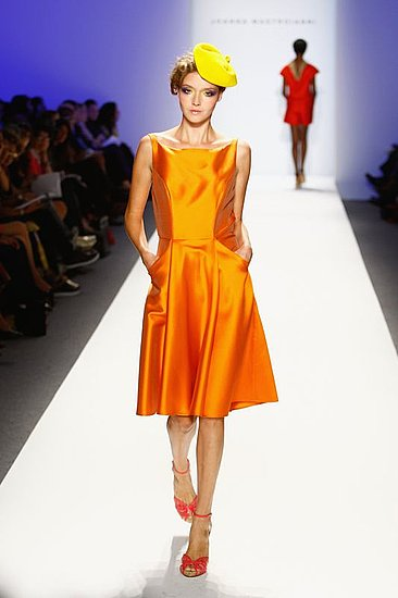 New York Spring 2009 Trend Report: Shine: Photo 8 of 23 | Coutorture :  runway trend satin new york