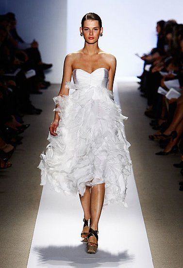 Badgley Mischka Spring 2009 | Designer, Gallery, runway Coutorture - Coutorture :  bridal evening dress design wedding