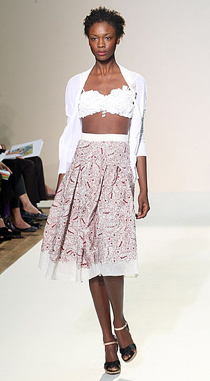 London Fashion Week: Nicole Farhi Spring Summer 2009 | Spring 2009, runway, gallery | Coutorture :  spring 2009 designer nicole farhi red skirt