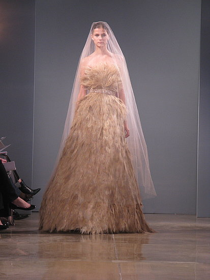 New York Bridal Market: Monique Lhuillier Bride Fall 2009 | runway, Gallery, Fall 2009 | Coutorture :  monique lhuillier