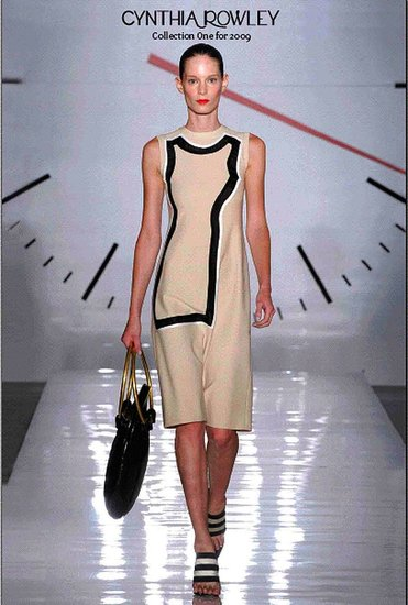 Cynthia Rowley Spring 2009 Collection & Look Book : Photo 1 of 45 | Coutorture :  knee length collection dress 2009
