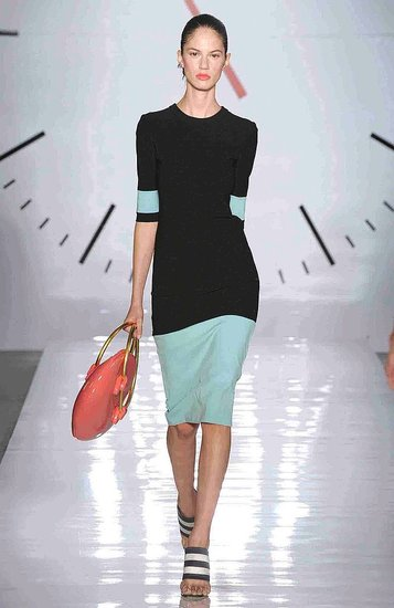 Cynthia Rowley Spring 2009 Collection & Look Book : Photo 4 of 45 | Coutorture :  spring dress 2009 crew neck