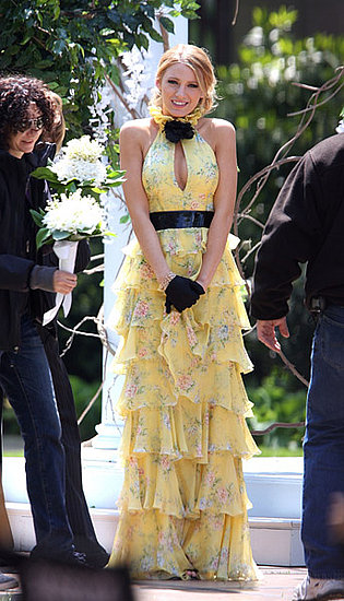 for 2010 goes to Gossip Girl Blake Lively who wore this yellow and black