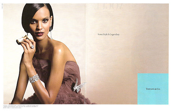 liya kebede for Tiffany f/w/ 08.09