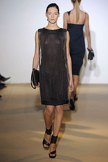 Raf Simons Sees the Benefits of Fringe for Jil Sander Spring 2009: Photo 31 of 46 | fashionologie from fashionologie.com