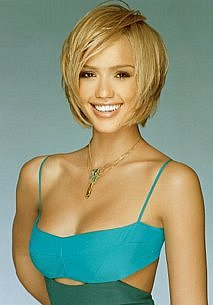 Jessica Alba With Short Hair