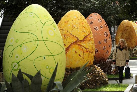 Giant Easter Eggs on Display in Berlin | POPSUGAR Love & Sex