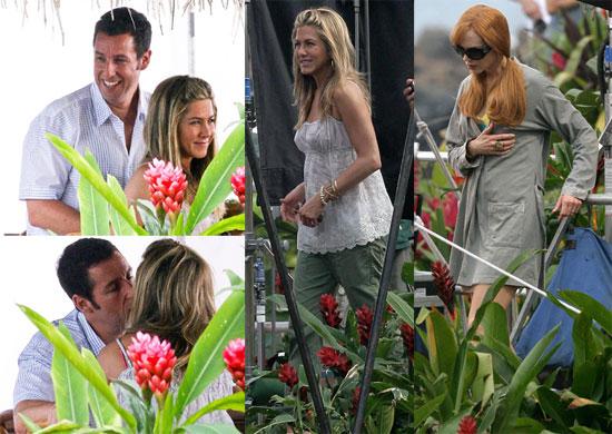 Pictures of Jennifer Aniston, Adam Sandler And Nicole Kidman