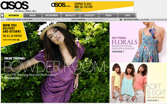 cheap sale entire collection best value Asos to Launch New US Online Shopping Site | POPSUGAR Fashion