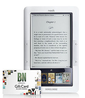 Barnes and Noble nook giftcard