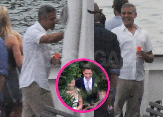 John Krasinski Emily Blunt Wedding.Pictures Of George Clooney On Lake Como After Hosting John