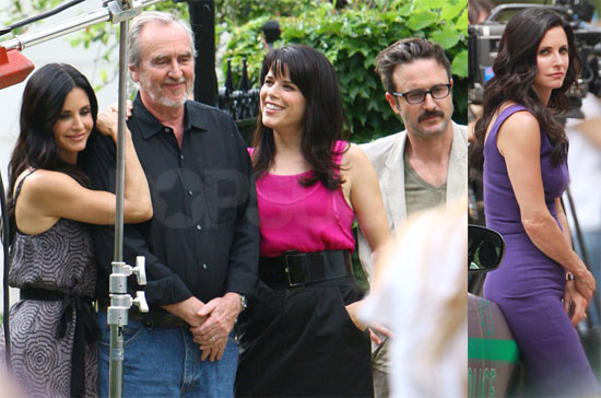Pictures of Courteney Cox, David Arquette, and Neve Campbell