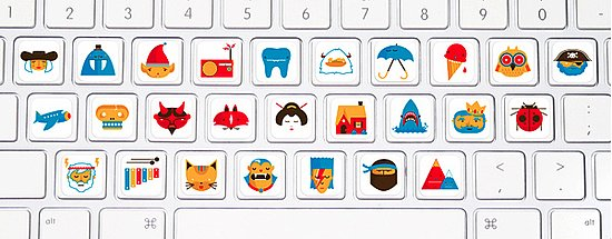 picture relating to Printable Keyboard Stickers titled Keyboard Stickers For Small children POPSUGAR Spouse and children