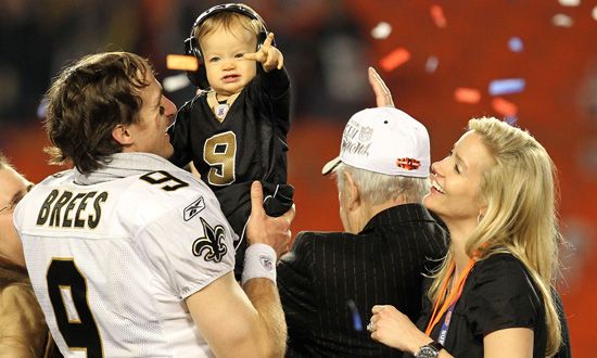 timeless design 669a7 7ad4c Drew Brees Won't Know About Baby's Birth | POPSUGAR Family
