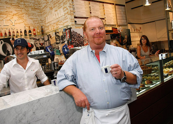 Mario Batali Discusses Monster Job Search, The Chew