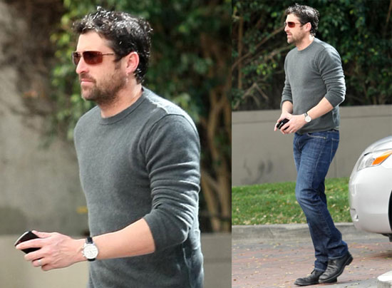 Photos Of Patrick Dempsey With A Beard Running Errands In La